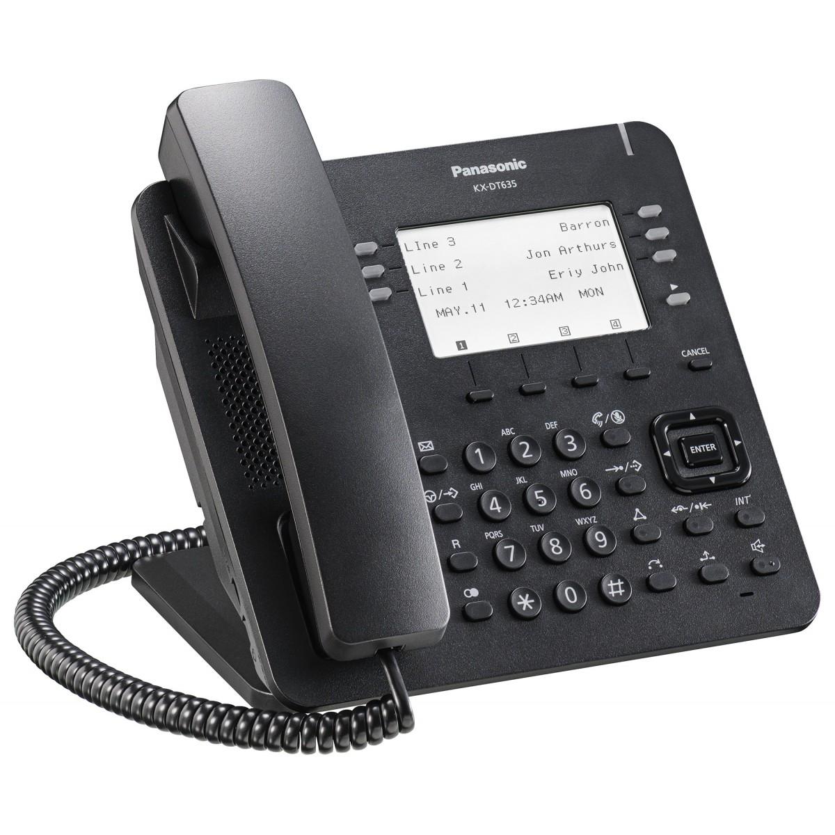 Telefono digitale Panasonic KX‐DT521NE Bianco