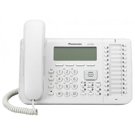 Telefono Digitale Panasonic KX‐DT546NE Bianco
