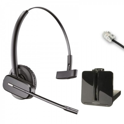 Poly Plantronics Savi 7220 cuffia wireless duo con microfono antirumore