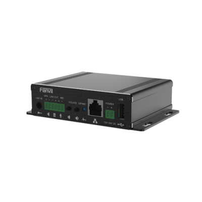 Fanvil PA3 amplificatore audio IP SIP gestione videocamera