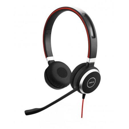 Jabra Evolve 40 MS Auricolare per cavo stereo con USB e jack da 3,5