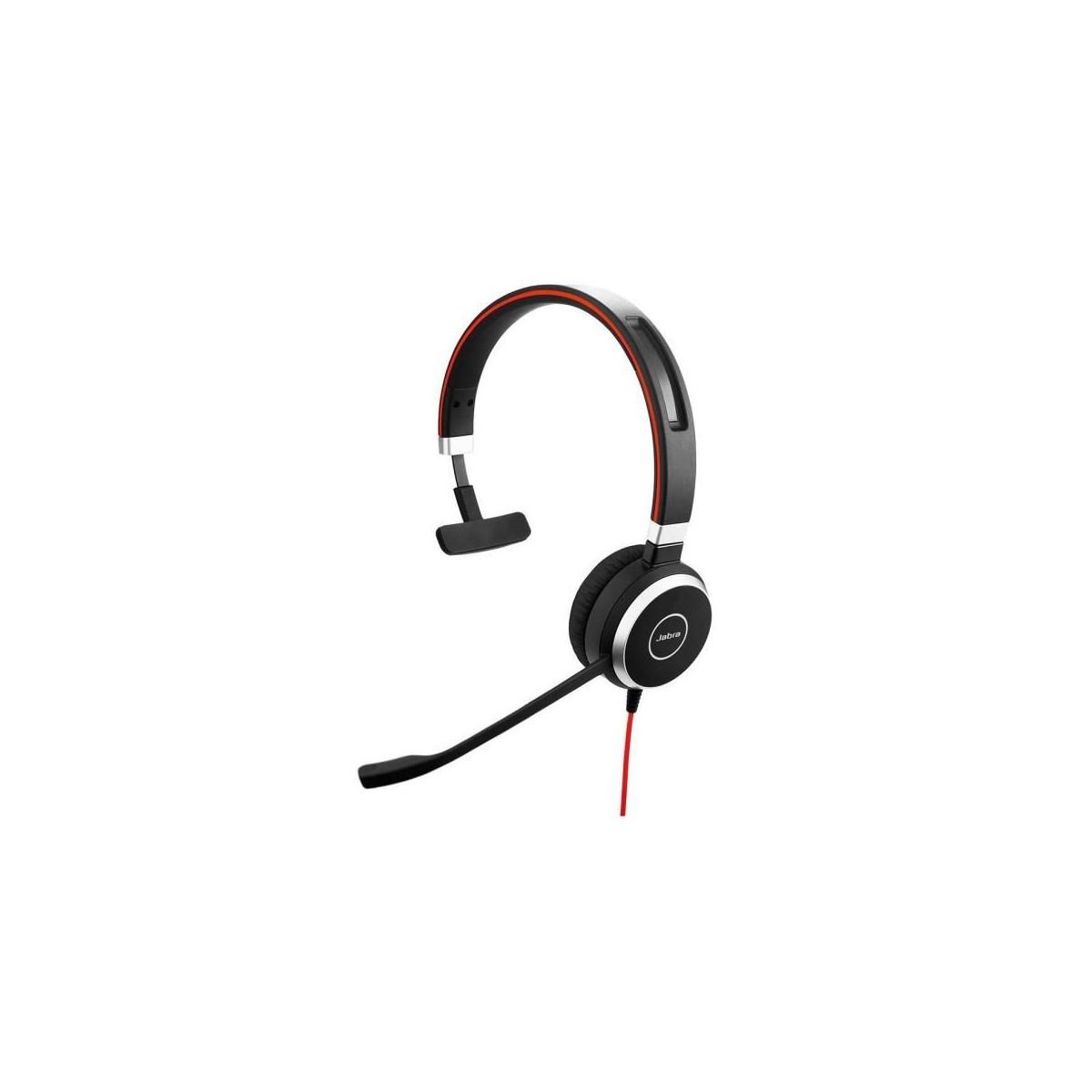 Jabra Evolve 40 UC Cuffie con cavo mono con jack USB e da 3,5